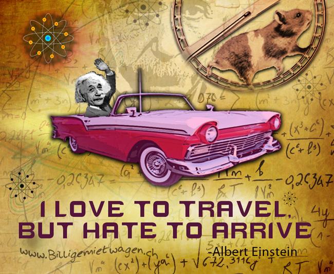 Image of an Albert Einstein Quote