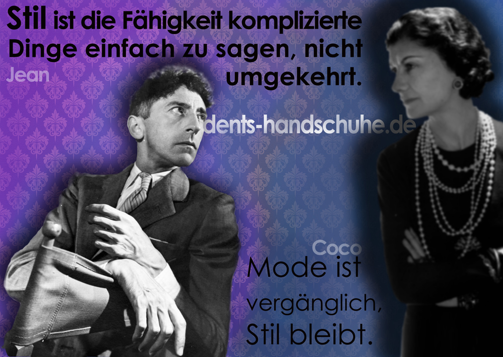 Quotagraphic in German for Dents Gloves